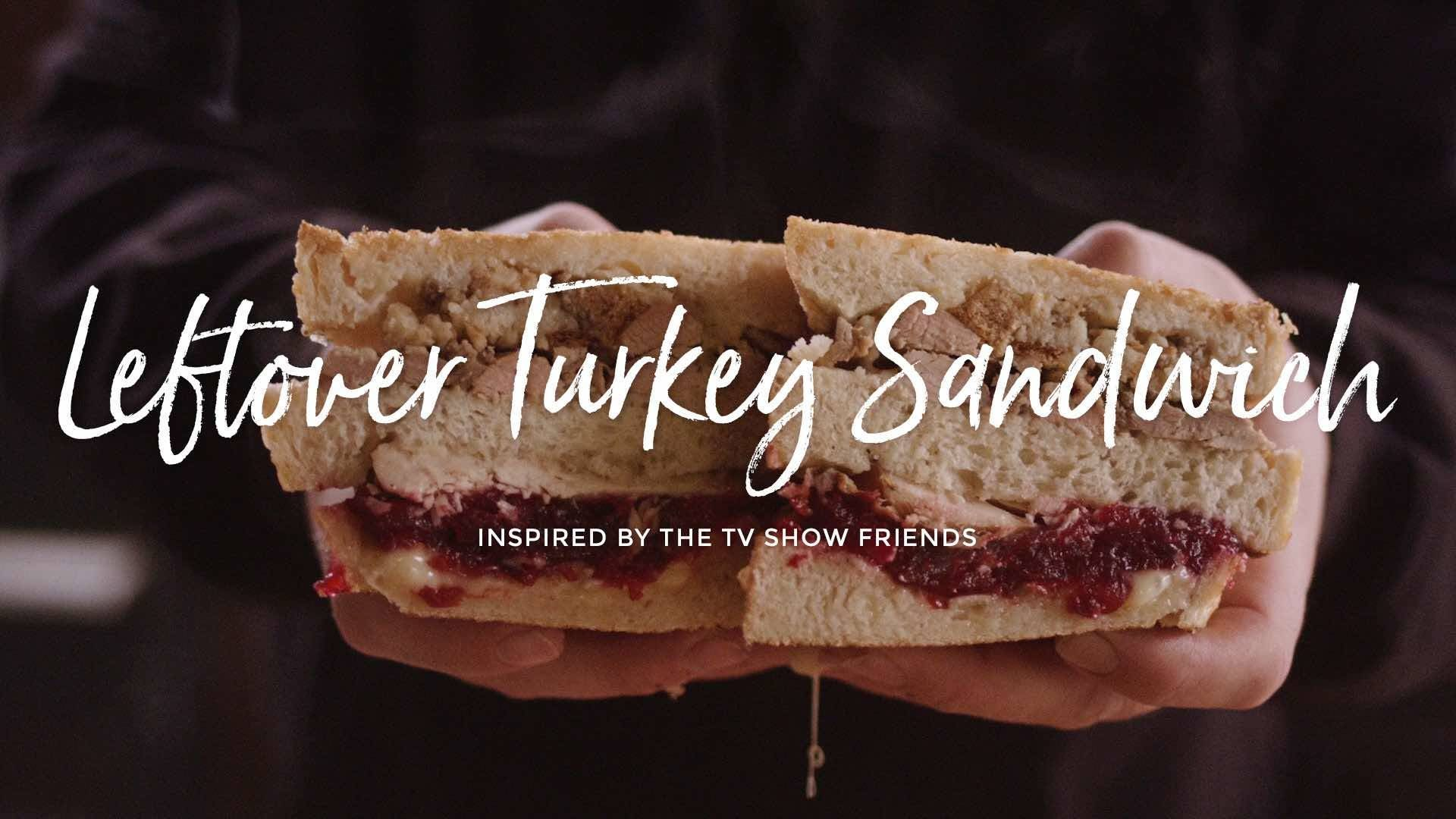How to make Leftover Thanksgiving Turkey Sandwich