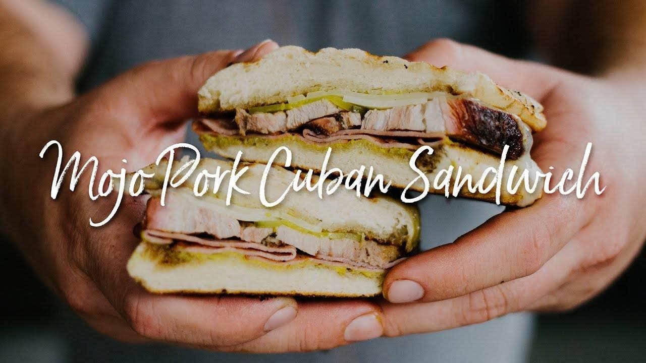 How to make Mojo Pork Cuban Sandwich