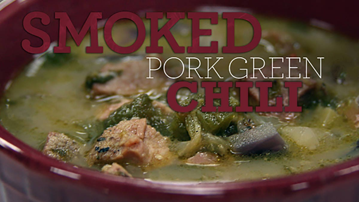 Recipe for Smoked Pork Green Chili