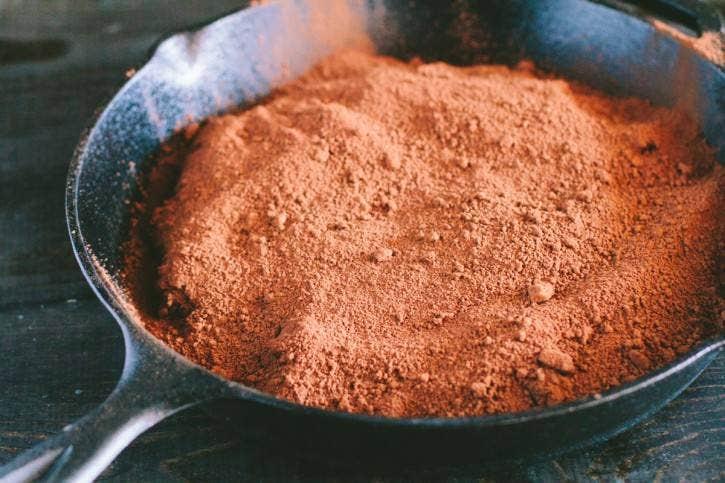 Combining batter ingredients
