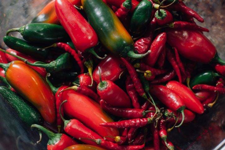 This recipe is a great solution for when the pepper plants in your garden go into beast mode, or if you're on the receiving end of a friend/relative who's desperately trying to find a home for excess peppers.