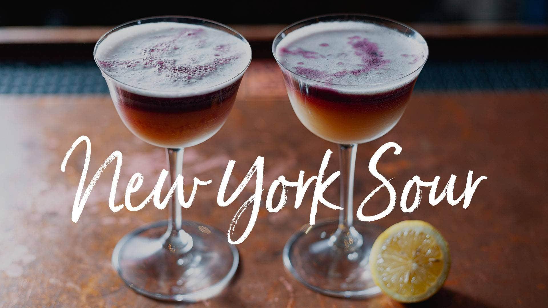 New York Sour Recipe