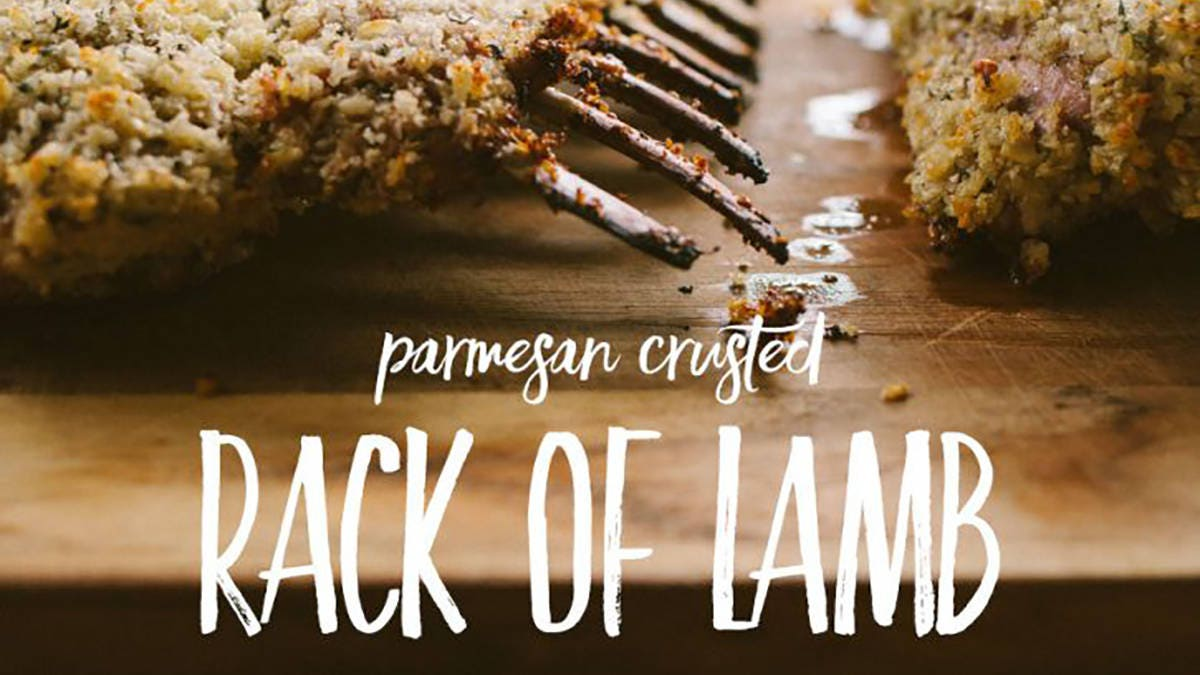 How to make Parmesan Crusted Rack of Lamb
