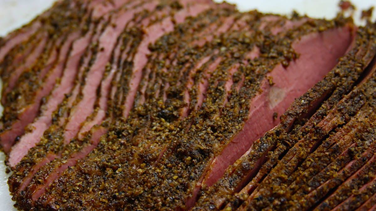 Recipe for Homemade Pastrami