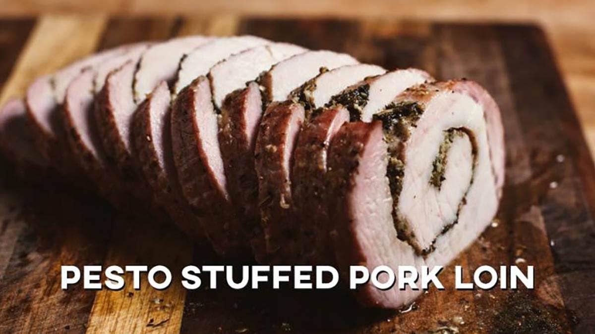 How to make Pesto Stuffed Pork Loin