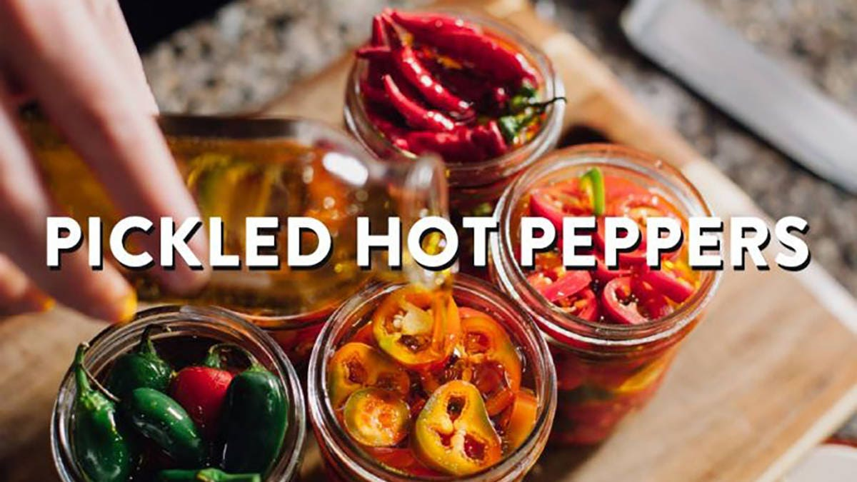 Recipe for Pickled Hot Peppers