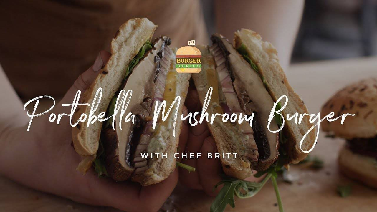 How to make Portobello Mushroom Burgers