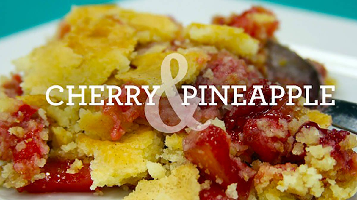 Cherry and Pineapple Dump Cake Recipe