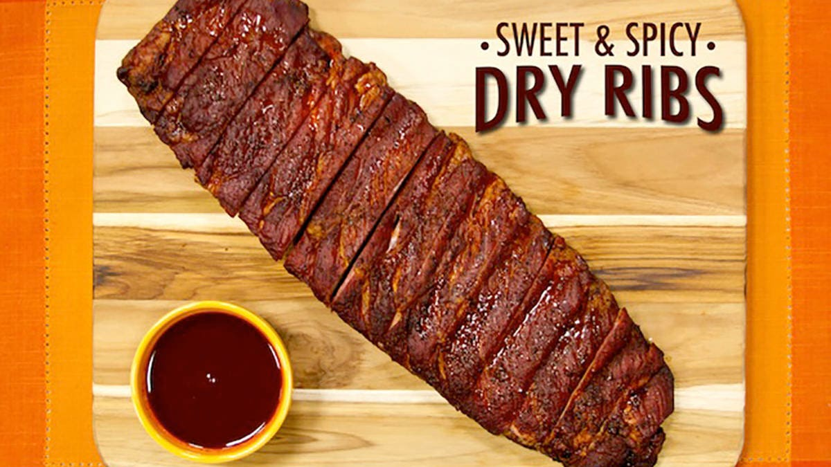 Recipe for Sweet & Spicy Dry Ribs