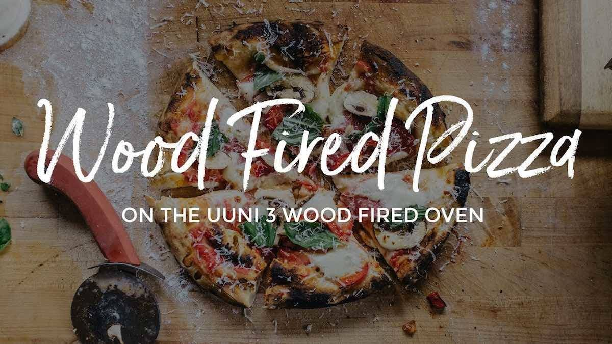 How to make Wood Fired Pizza on the Ooni Portable Pizza Oven