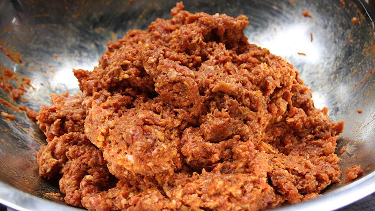 Rib Tip Chorizo Recipe
