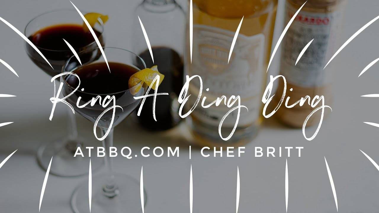 Ring A Ding Ding - Nocino Cocktail Recipe