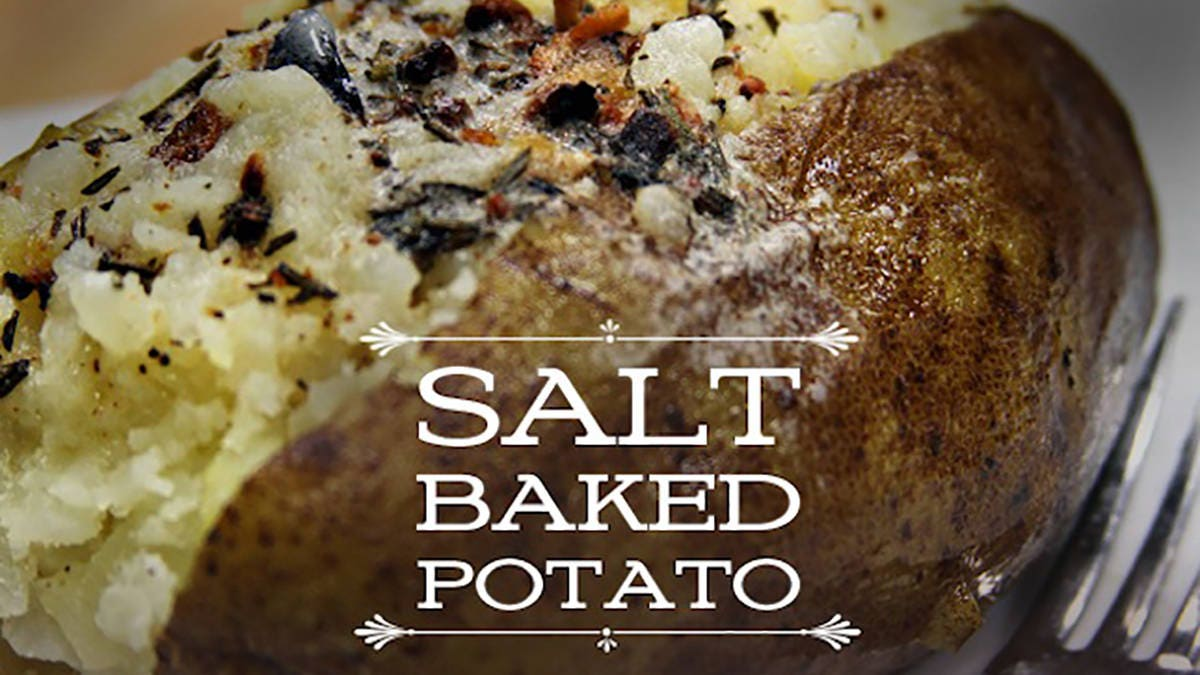 Salt Baked Potato Recipe