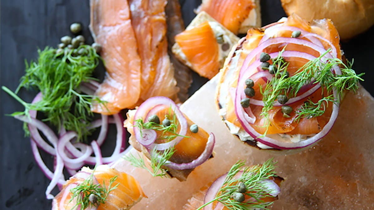 Salt Block Cured Smoked Salmon Recipe