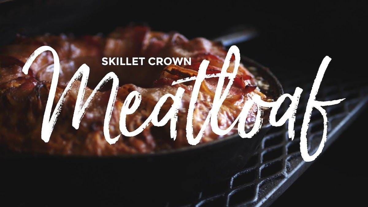 How to make Skillet Crown Meatloaf