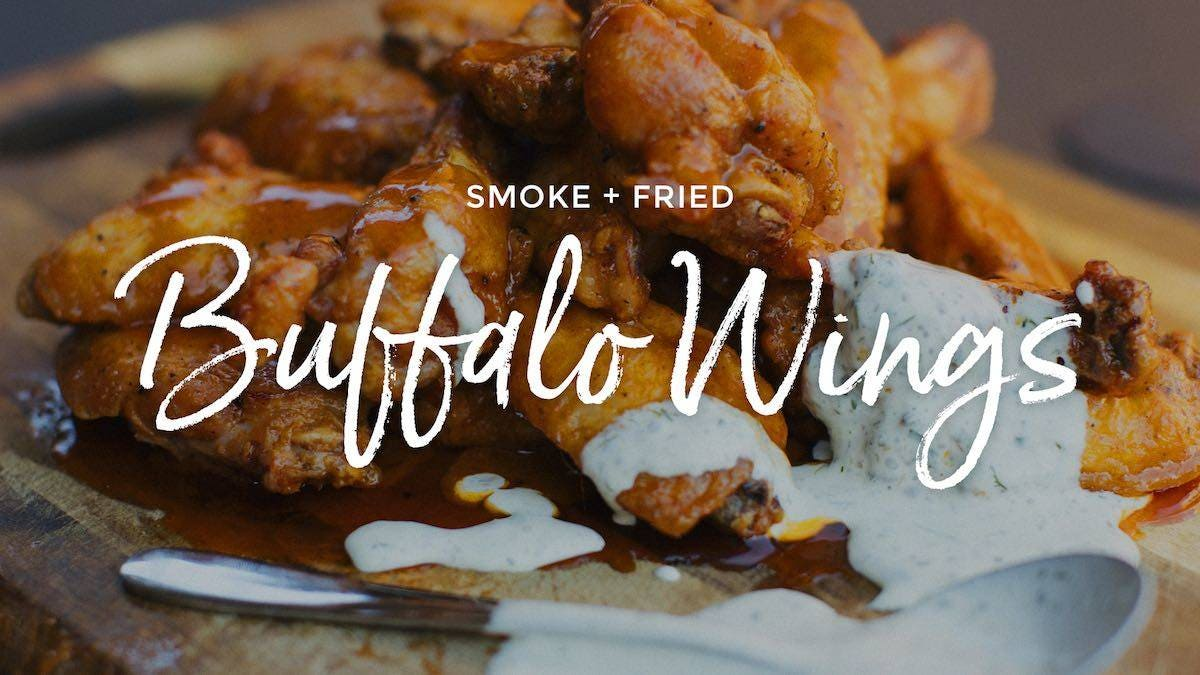 Recipe for Smoke Fried Buffalo Wings