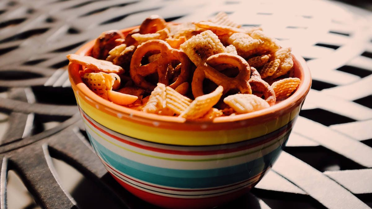 How to make Smoked Carne Asada Chex Mix