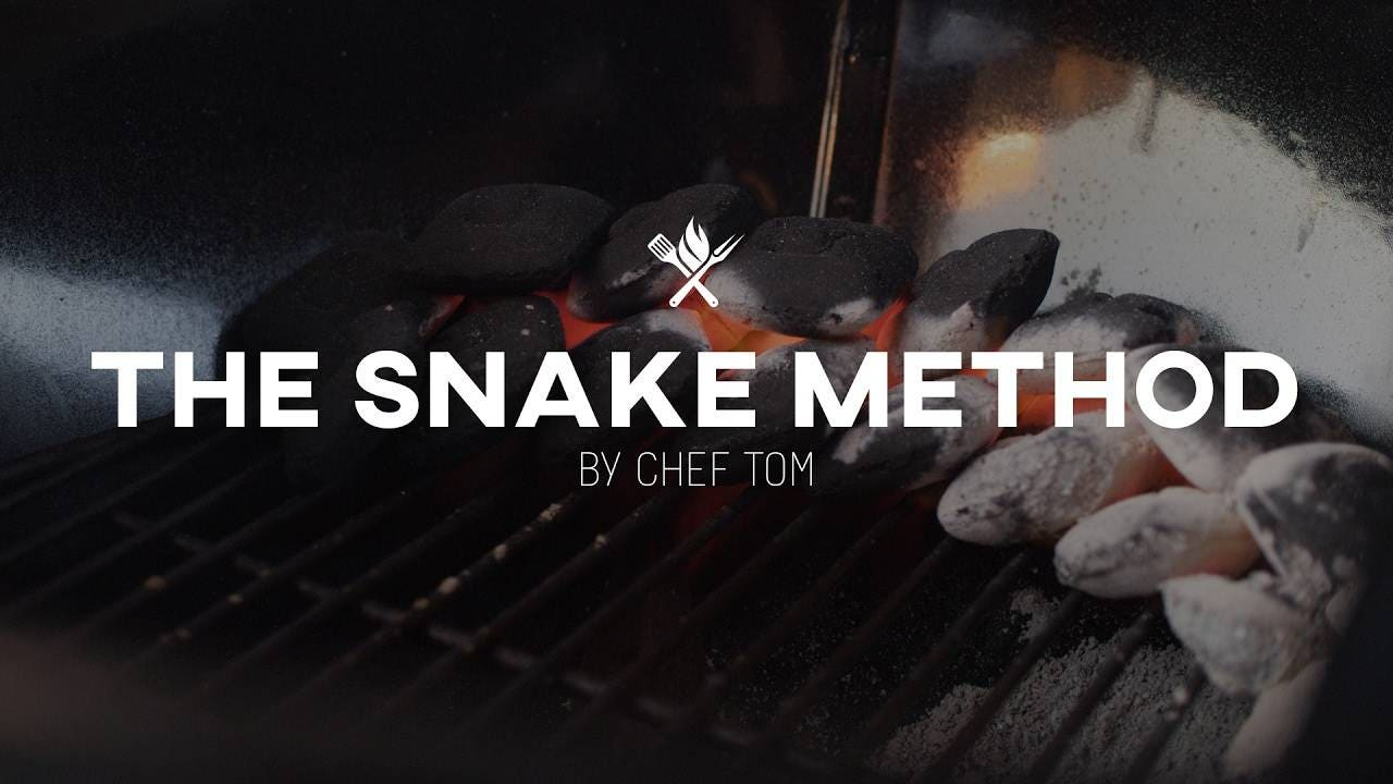 Snake Method Slow and Low on the Weber Kettle