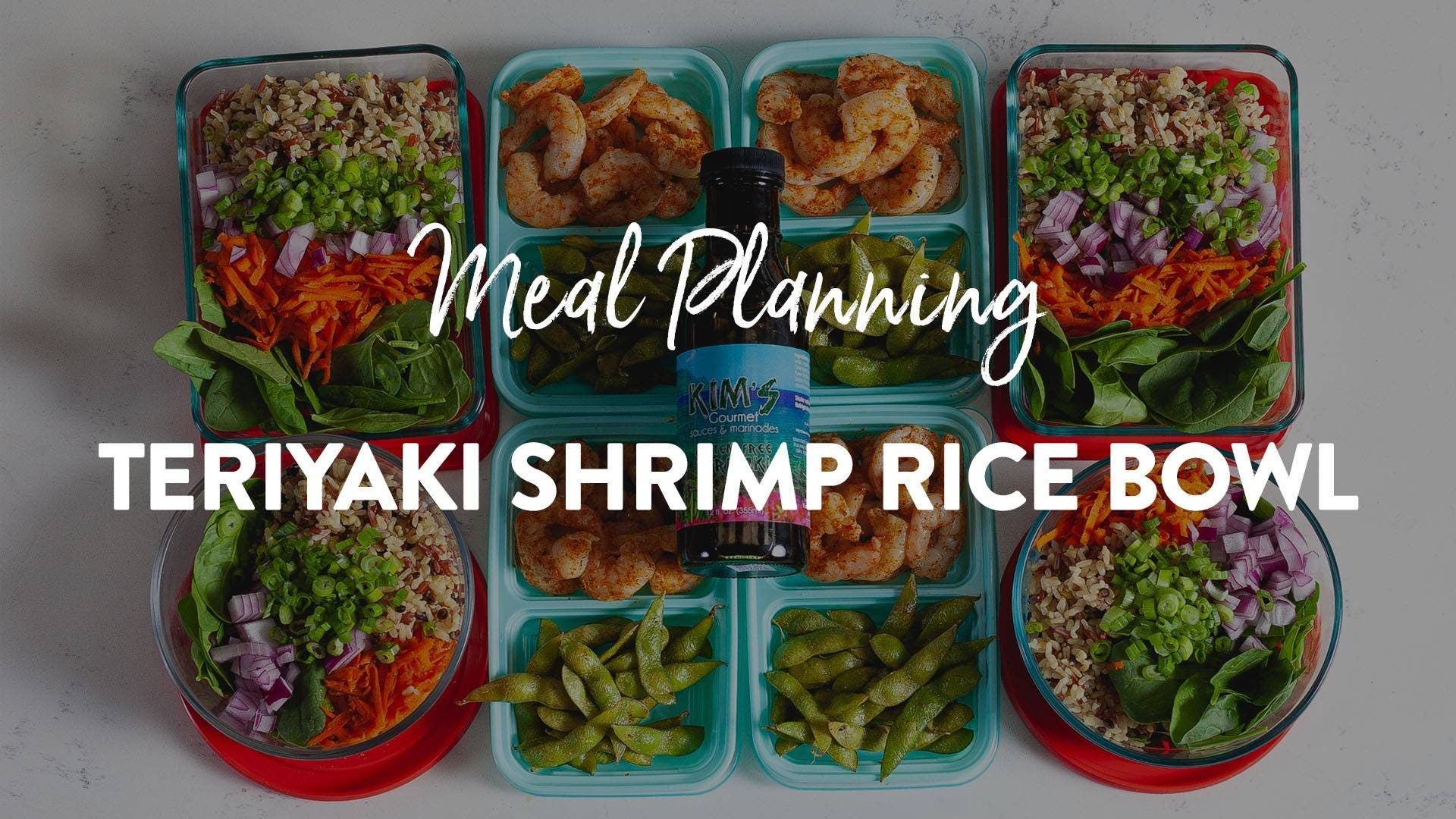 Teriyaki Shrimp Rice Bowl Recipe
