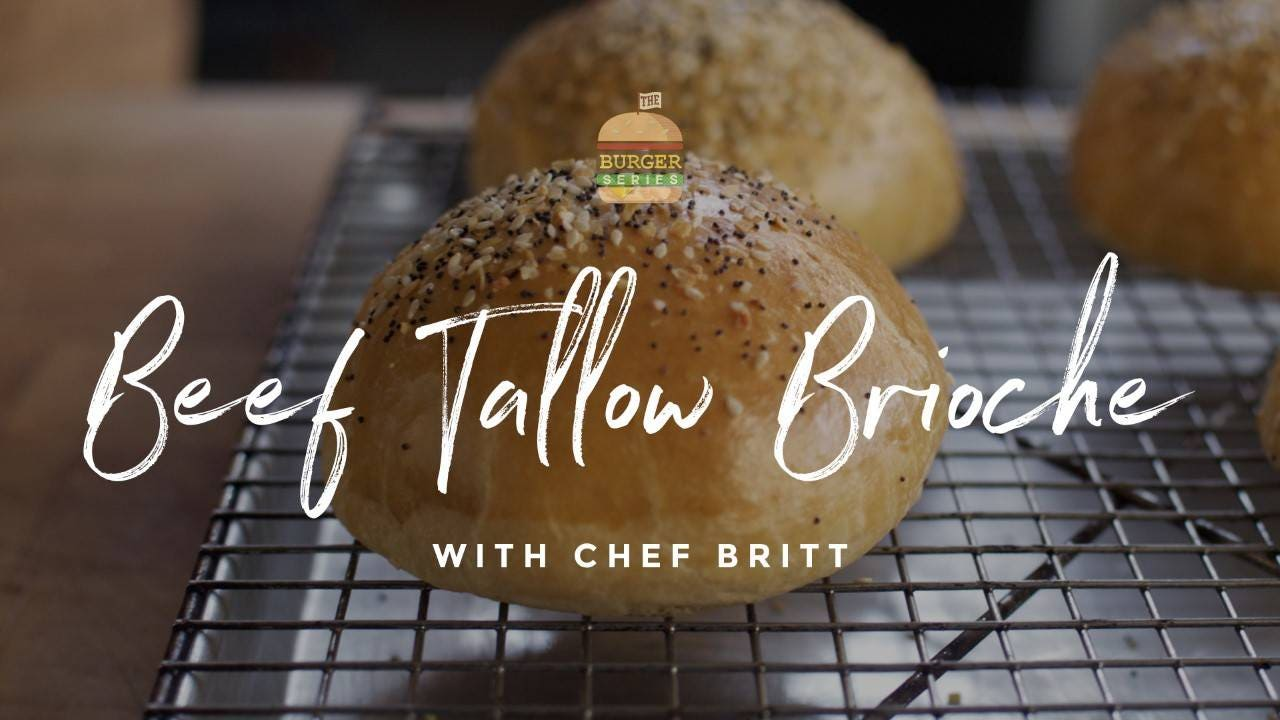 How to make Beef Tallow Brioche Buns
