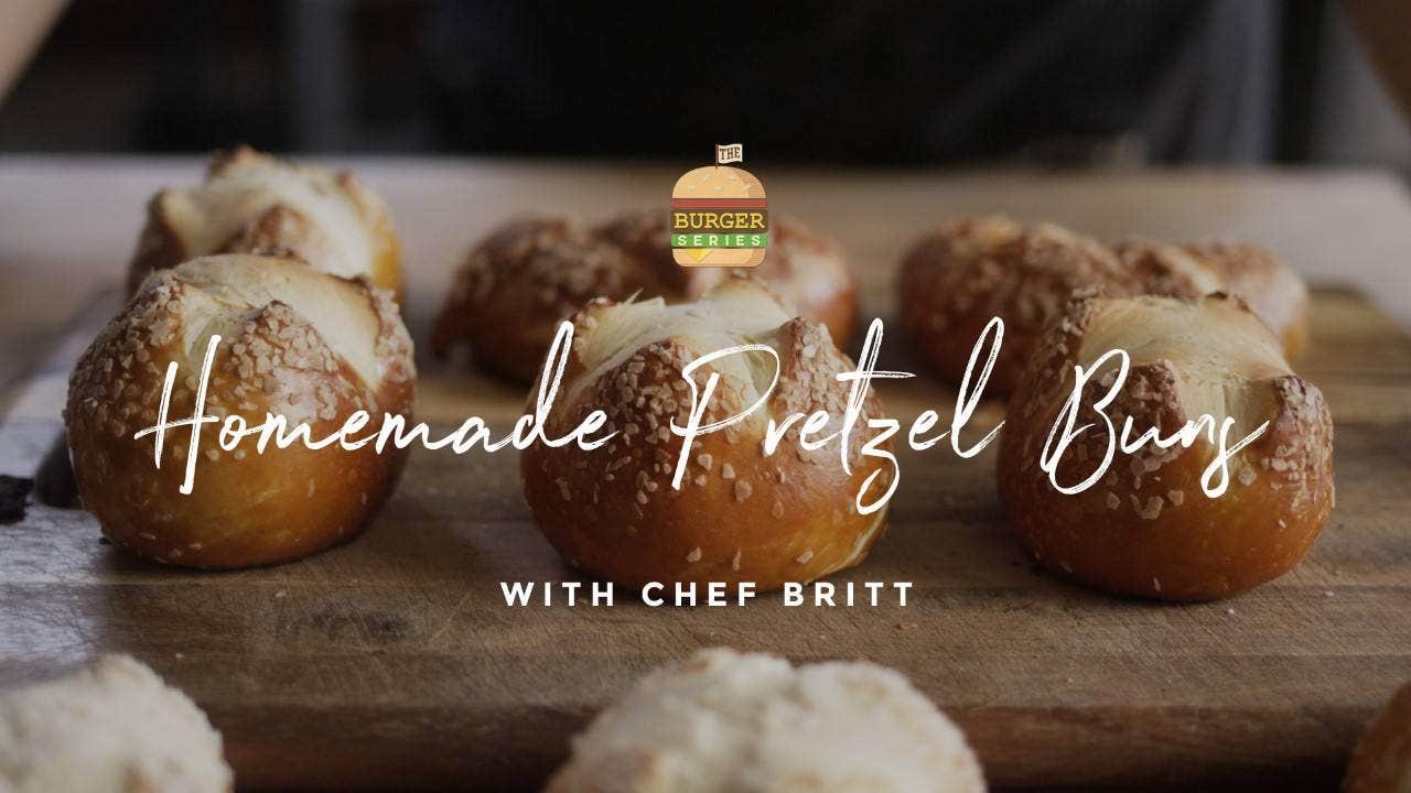 How to make Wood-Fired Pretzel Buns