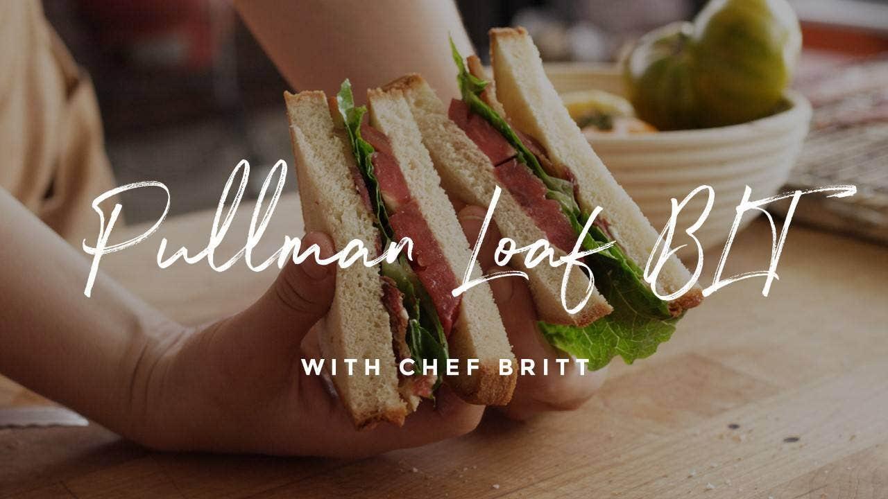 How to make Pullman Loaf BLT