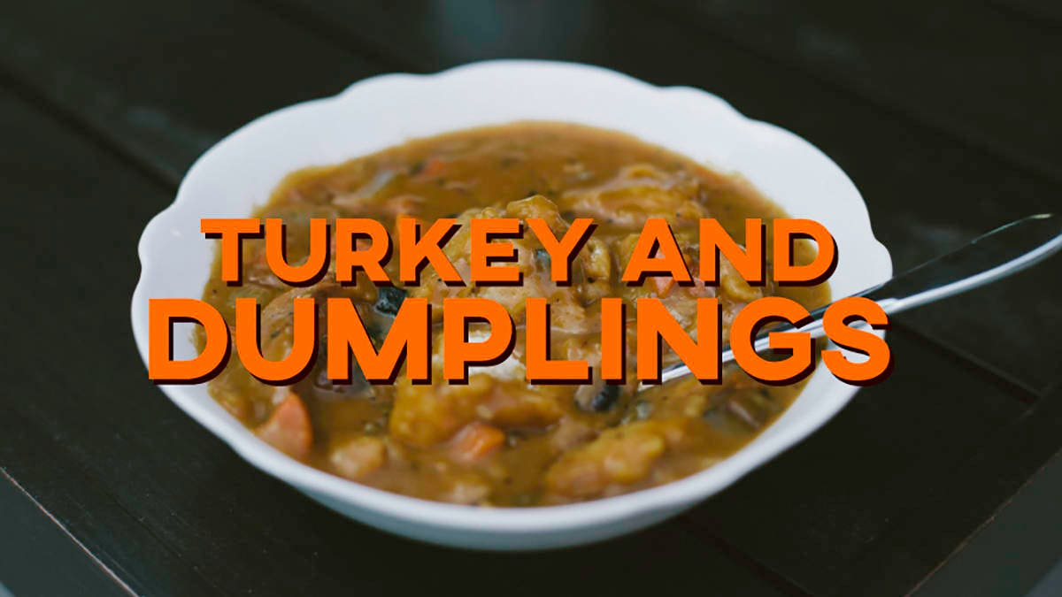 How to make Turkey and Dumplings