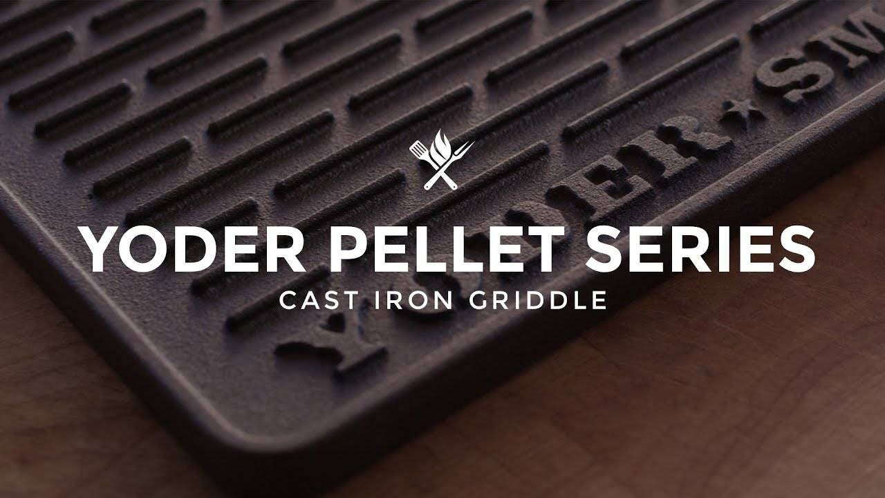 Yoder Smokers YS480/YS640 Cast Iron Griddle Overview