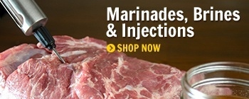 Marinades, Brines & Injections