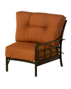 Stratford Estate Crescent Left Chair with Cushion