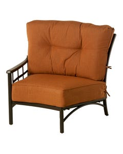 Stratford Estate Crescent Right Chair with Cushion