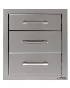 "Alfresco 17"" Three Tier Storage Drawers"