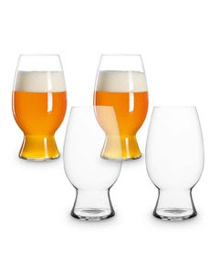 Spiegelau Four Piece American Wheat Beer Glass Set