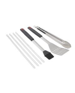 GrillPro 7pc Deluxe Soft Grip Tool Set