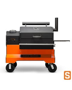 Yoder Smokers YS640s Pellet Grill with ACS on Competition Cart