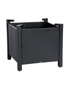 Square Fire Table Base with Square Burner