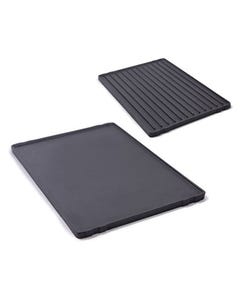GrillPro Reversible Cast Iron Griddle