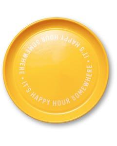 It's Happy Hour Somewhere Bar Tray
