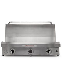 "Le Griddle GFE105 41"" Stainless Steel Teppanyaki Grills"