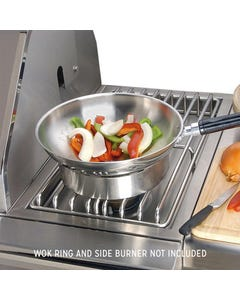 """Alfresco 14"""" Commercial Wok with Handle"""