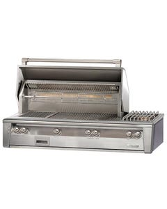 "Alfresco ALXE 56"" Built-In Gas Grill with Side Burner"