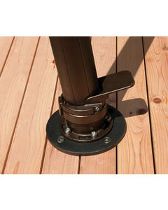 Treasure Garden Wood Mount Kit for AKZ Cantilever Umbrella