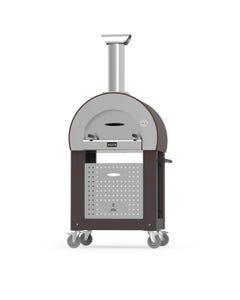 Alfa 5 Minuti Wood Fired Pizza Oven-With Base