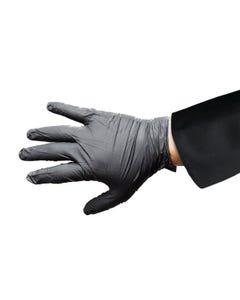 Hantover Nitrile Gloves, Black