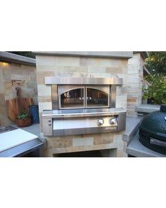 """Alfresco Grills 30"""" Built-In Pizza Oven"""