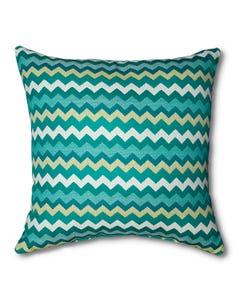 Casual Cushion Throw Pillow in Bondi Surf
