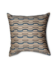 Casual Cushion Throw Pillow in Linkage Denim