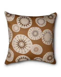 Casual Cushion Throw Pillow in Roundel Cedar