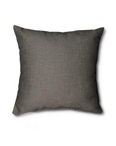 Casual Cushion Throw Pillow in Sailcloth Graphite