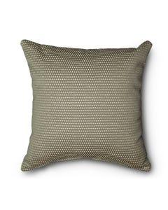 Casual Cushion Throw Pillow in Serenade Gunmetal